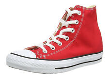 Converse Chuck Taylor All Star Hi Tops Red All Sizes Mens Sneakers Shoes