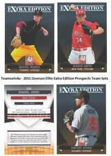 2011 Donruss Elite Extra Edition Prospects Baseball Set ** Pick Your Team **