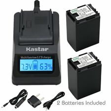 BP-827 Battery & Fast Charger for Canon VIXIA HF S21, HFS21, HF S200, HFS200