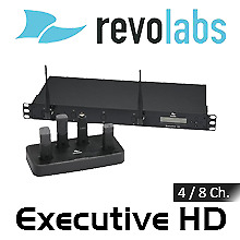 Revolabs Executive HD 4/8-Channel Wireless Microphone System