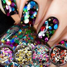 1 Box Nail Tip Decorations Nail Sequins Paillette Glitter Cosmetic Fashion Y9P6
