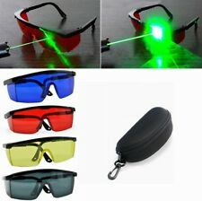 Eye Safety Glasses for Red Blue Green Laser UV Light Protection Goggles + Case
