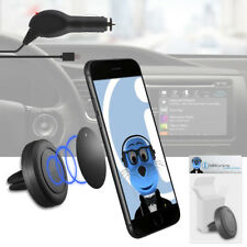 Magnetic Air Vent In Car Holder & Charger For Samsung i9300 Galaxy S3 III