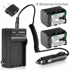 BN-VG121 Battery & Regular Charger for JVC Everio GZ-EX575 GZ-HD500 GZ-HD520