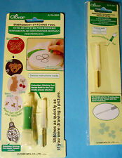 NEW EMBROIDERY STITCHING TOOL SET or NEEDLE REFILL * Your Choice *  CLOVER