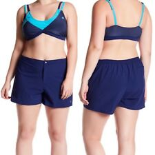 adidas Swimsuit/Jogger Swim Bottoms Shorts w/ back pocket PLUS SIZE BNWT $52