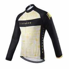LIVESTRONG LANCE ARMSTRONG 3 Cycling Jersey Long Sleeve Shirt Winter Bike Ropa C