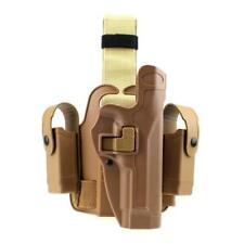 Tactical Leg Holster Right Pistol Holster with Mag Torch Pouch for Beretta M9 M9