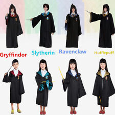 Adult Child Harry Potter Gryffindor Robe CloakCostume Cape Tie Scarf Cosplay NEW