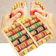 Wooden Foot Body Roller Wood Care Massage Reflexology Relax Relief Massager Tool