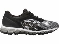 Asics GEL-Quantum 360 Knit Black White Silver Women Running Shoes T778N-9001