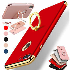 For iPhone 6S 7 8 Plus Ring Case Luxury Ultra Thin Hybrid Protective Hard Cover