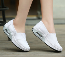 Women's canvas Breathable Casual Slip On Sports Running Shoes Sneaker Athletics
