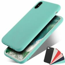 Shockproof Soft TPU Silicone Rubber Matte Candy Case Cover For iPhone 8 7 6 5 SE