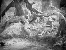 Mary Pickford saves a man in quicksand silent film Sparrows 8b4-884
