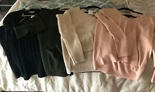 Forever 21 Sweaters Cardigans, Dress & Vneck NWT/NWOT,S & M, Free Ship