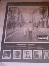 < OASIS - WHATS THE STORY MORNING GLORY original magazine advert / small poster