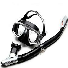 MagiDeal Adult Snorkeling Scuba Mask and Dry Snorkel Set for Swimming Diving