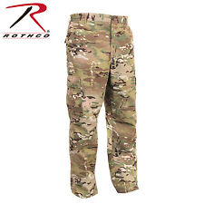 Multicam BDU Pants 6-Pocket Military Style Poly/Cotton Rip-Stop Cargo Pants 2950