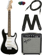 Squier by Fender Stratocaster Pack - Black