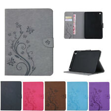 Painted Sleep/Wake Leather Magnetic Stand Case Cover Card Holder For Apple iPad