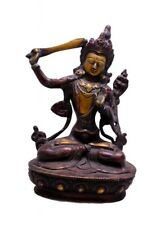 Indian Religious Gift Asian Goddess Tara Brass Idol Sculpture Statue 8""