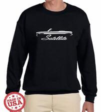 1965 1966 1967 Plymouth Satellite Convertible Outline Design Sweatshirt NEW