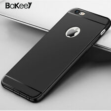 Bakeey Soft TPU Matte Silicone Back Cover Case With Dust Plug For iPhone 6 / 6s