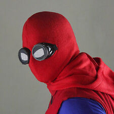 Spider-man Mask Costume Hood Adult Mens Spiderman Spider Man Homecoming Cosplay