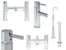 Modern Solid Brass Basin Mixer Bath Shower Mixer Bath Filler Set