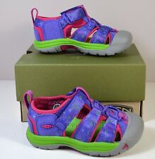 NIB GIRLS KIDS KEEN NEWPORT H2 LIBERTY MONSTERS WATER SANDALS SHOES SZ 6C 7C