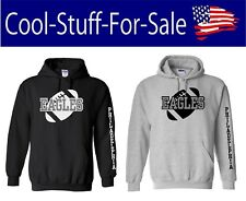 Philadelphia Eagles Football Pullover Hooded Sweatshirt