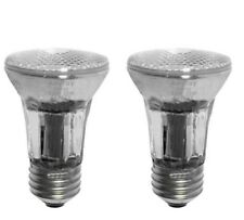 (2)-Bulbs 35W E26 Medium PAR16 120V Narrow Flood Halogen Light Bulb FMW 35-Watts