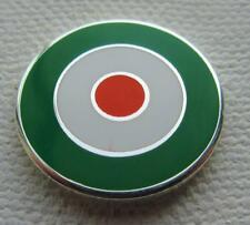 MOD TARGET BADGE - IRELAND IRISH EIRE COLOURS 12 16 OR 20MM DIA