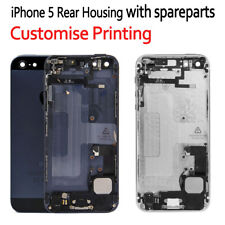 Back Housing Replacement Battery Cover Rear Frame With Spare Parts For iPhone 5