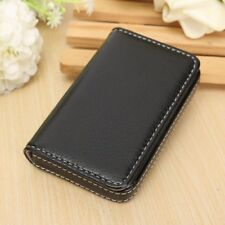 Waterproof Business ID Credit Card Wallet Holder PU Leather Pocket Case Box Ship