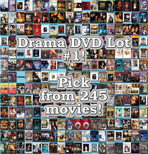 Drama DVD Lot #1: 245 Movies to Pick From! Buy Multiple And Save!