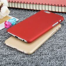 Ultra-Thin Matte Frosted Phone Cases For iPhones with Capa Coque Funda