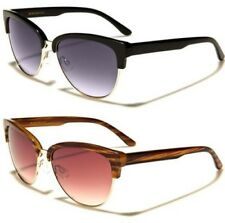 NEW SUNGLASSES LADIES WOMENS BLACK DESIGNER AVIATOR CAT EYE RETRO VINTAGE UV400