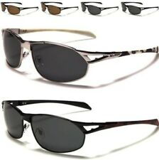 NEW SUNGLASSES MENS LADIES POLARIZED LENS BIG WRAP AVIATOR DRIVING CAMOUFLAGE
