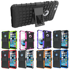 Shockproof Hard Heavy Duty Stand Armour Case Cover For Apple iPhone X 8 7 6s SE