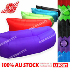 thickened waterproof Fast Inflatable Air Sleeping Bag Camping Bed Beach Sofa