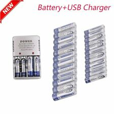 LOT AA 3000mAh + AAA 1000mAh 1.2V NI-MH BTY rechargeable battery 2/3A E8