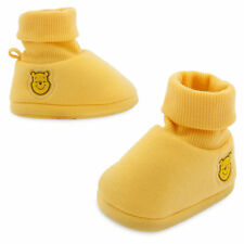 Disney Store Winnie-the-Pooh bear Baby Costume Shoes Slippers 0-6M 6-12M 12-18M