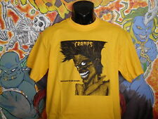 """The Cramps """"Bad Music.."""" Shirt Lux Interior Poison Ivy Punk Rockabilly"""