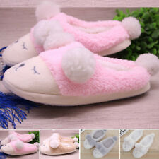 Winter Women Fleece Warm Shoes Cute Sheep Indoor Home House Flat Slippers