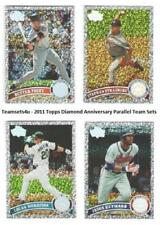 2011 Topps Diamond Anniversary Parallel Baseball Sets ** Pick Your Team Set **