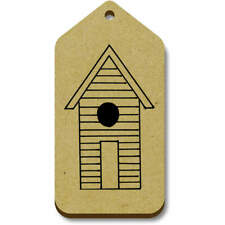 'Beach Hut' Gift / Luggage Tags (Pack of 10) (vTG0003579)