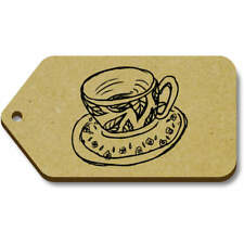 'Tea Cup' Gift / Luggage Tags (Pack of 10) (vTG0016073)