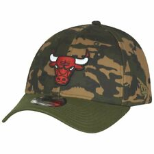 New Era 39Thirty Cap - WOOD CAMO Chicago Bulls